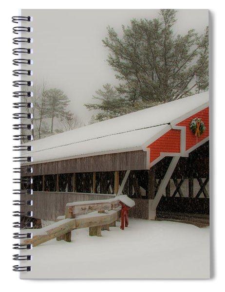 Jackson Nh Covered Bridge Spiral Notebook