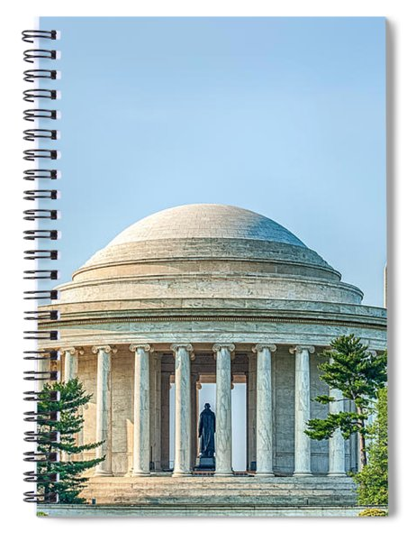 Jefferson Memorial Spiral Notebook