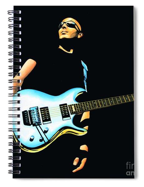 Joe Satriani Painting Spiral Notebook