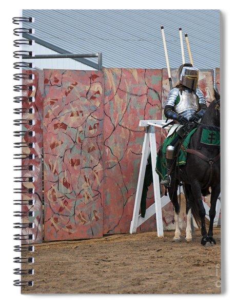 Jousting Spiral Notebook