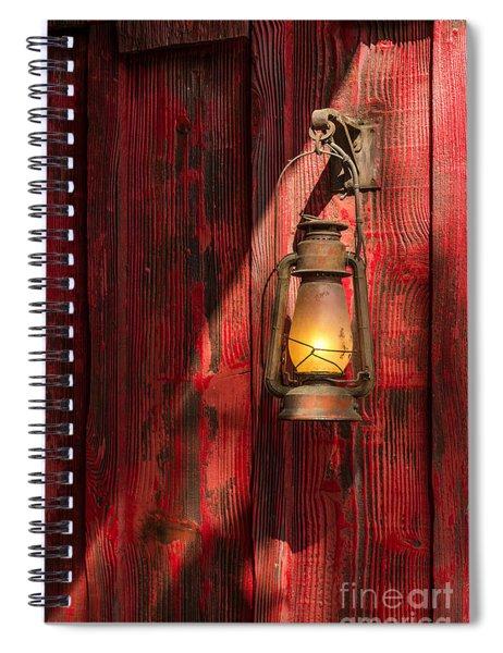 Kerosene Lantern Spiral Notebook