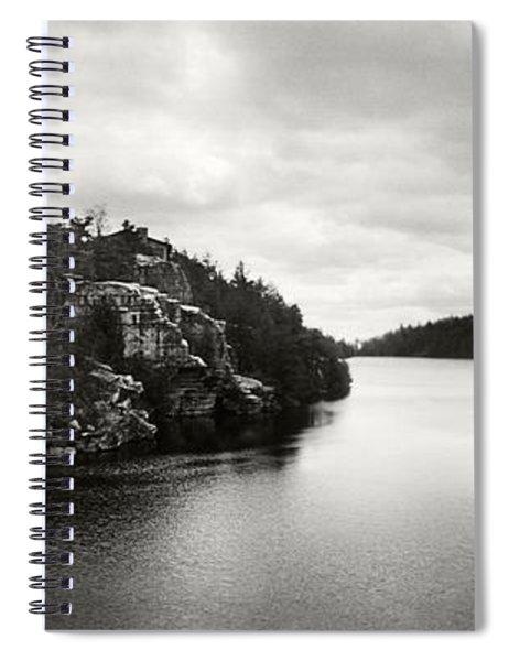Lake Minnewaska In Minnewaska State Spiral Notebook