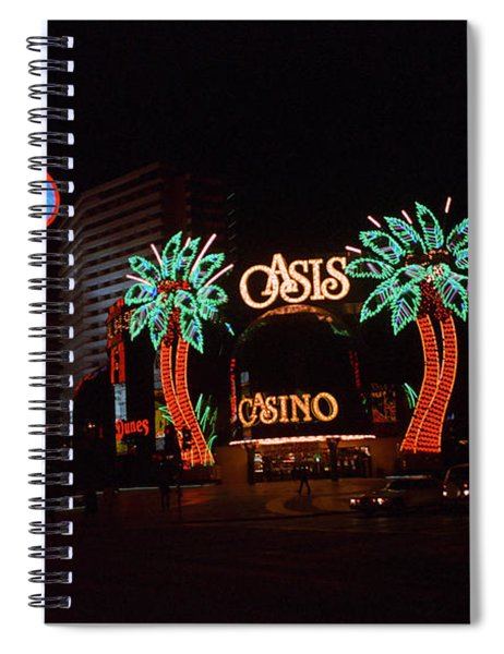 Las Vegas 1983 #2 Spiral Notebook