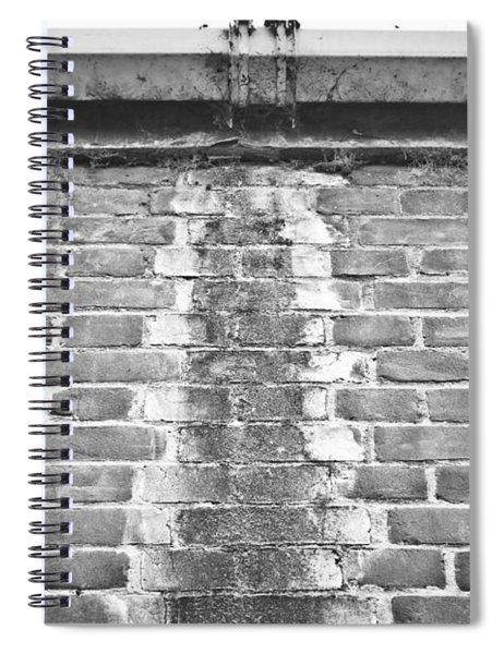 Leaking Gutter Spiral Notebook