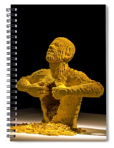 Lego Art Spiral Notebook