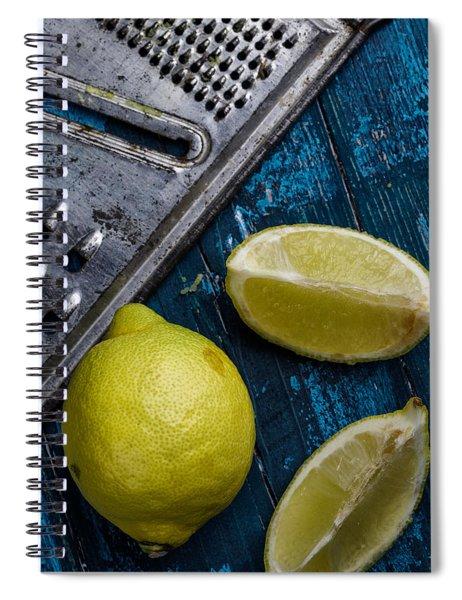 Lemon Spiral Notebook by Nailia Schwarz