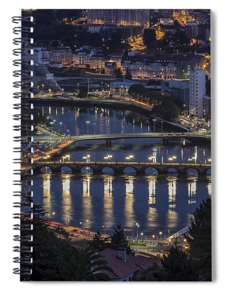 Lerez River Pontevedra Galicia Spain Spiral Notebook