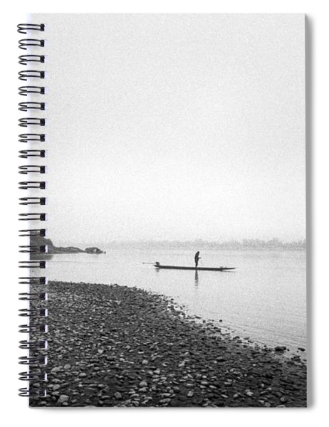 Life At Mekong River Spiral Notebook