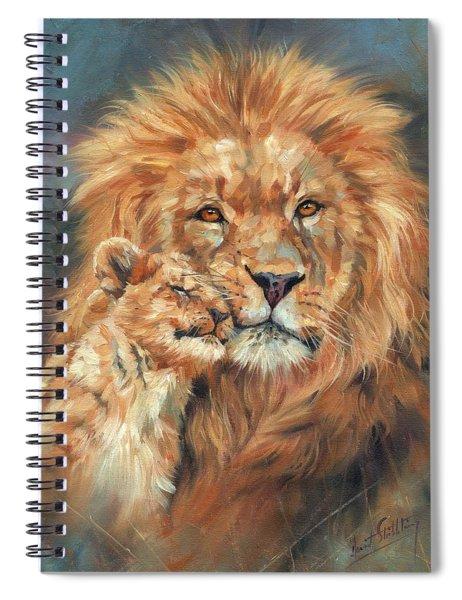 Lion Love Spiral Notebook