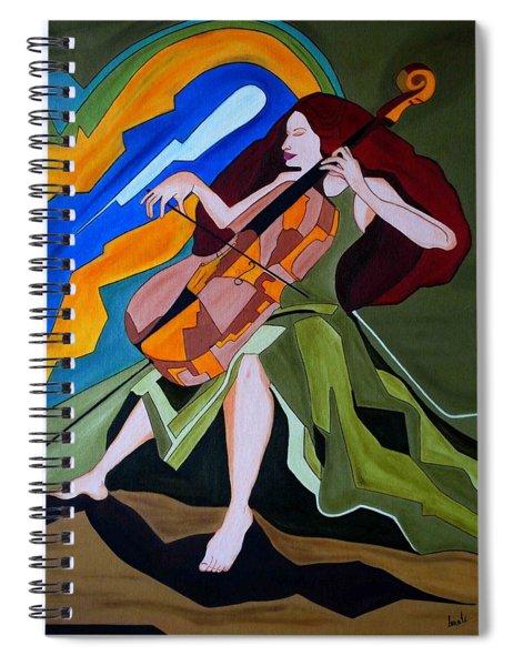 Lost In Music Spiral Notebook