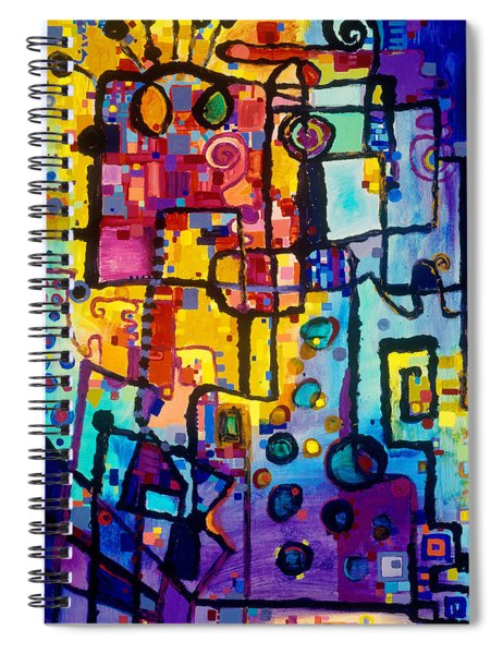 Lost Papers And Urban Plans Spiral Notebook