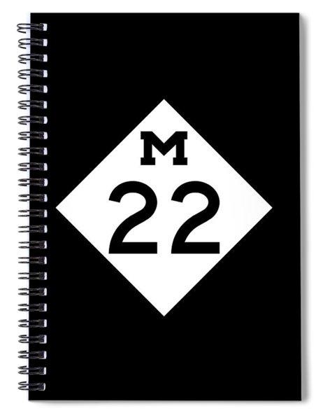 M 22 Spiral Notebook