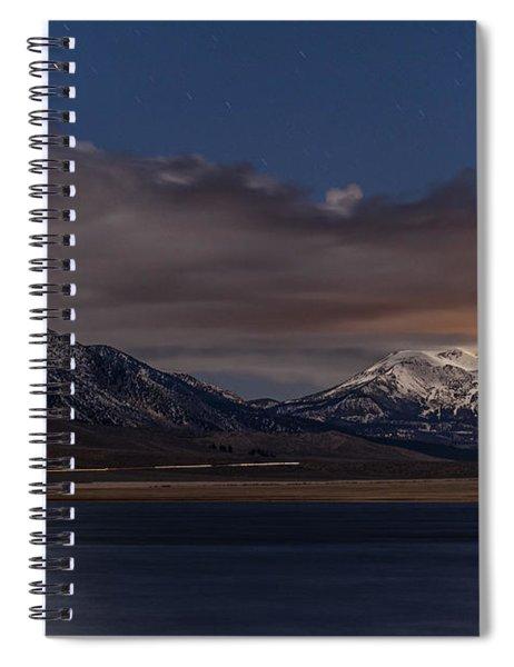 Mammoth At Night Spiral Notebook