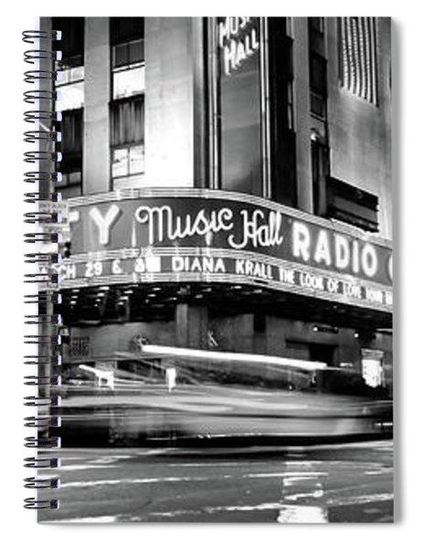 Manhattan, Radio City Music Hall, Nyc Spiral Notebook