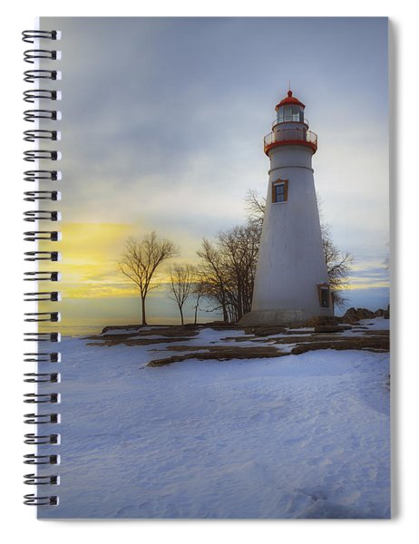 Marblehead Lighthouse Lake Erie Spiral Notebook