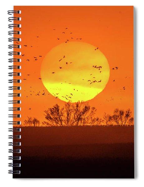 March 8, 2017 - Grand Island, Nebraska Spiral Notebook