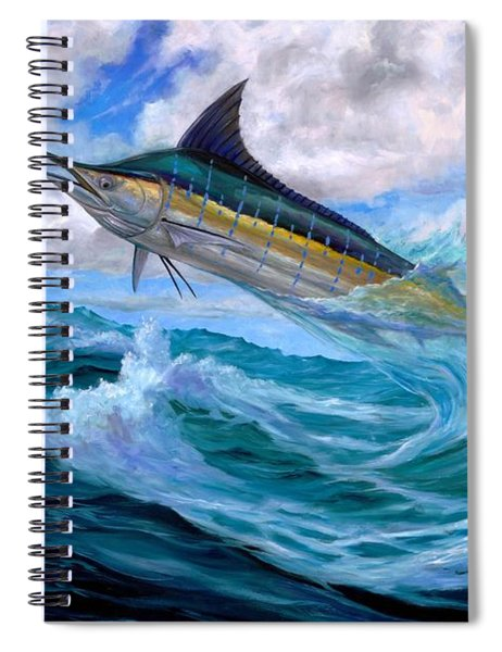 Marlin Low-flying Spiral Notebook