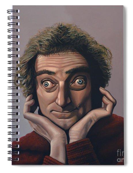 Marty Feldman Spiral Notebook