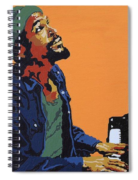 Marvin Gaye Spiral Notebook