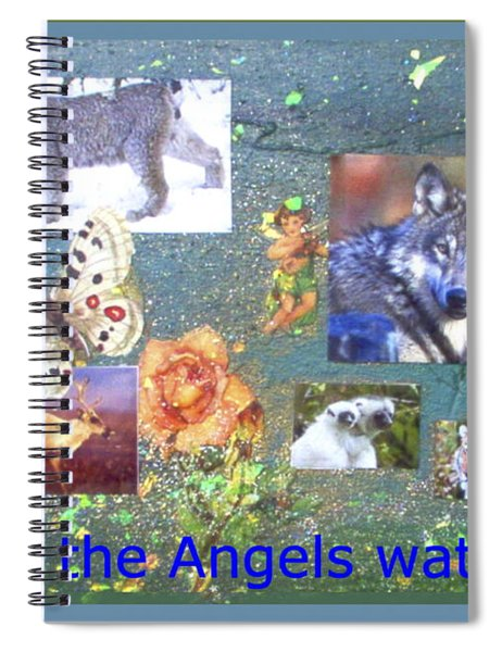 May The Angels Watch Spiral Notebook