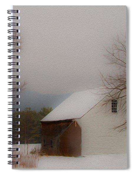Melvin Village Barn Spiral Notebook