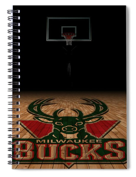 Milwaukee Bucks Spiral Notebook