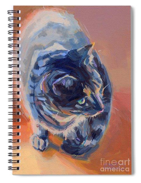 Mona Lisa Spiral Notebook