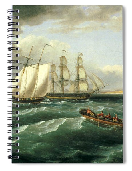 Mouth Of The Delaware Spiral Notebook