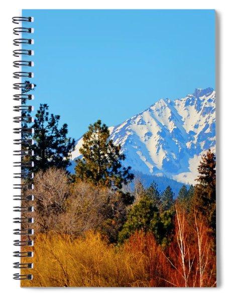 Mt Bachelor 21620 Spiral Notebook