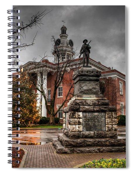 Murfreesboro Town Hall Spiral Notebook