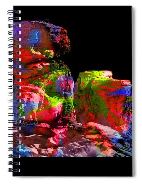 Mushroom Rock Spiral Notebook