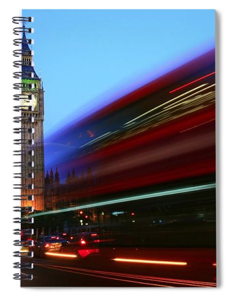 Must Be London Spiral Notebook