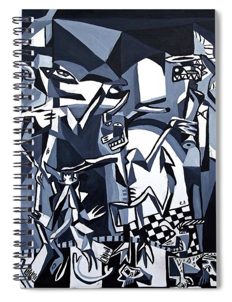 My Inner Demons Spiral Notebook