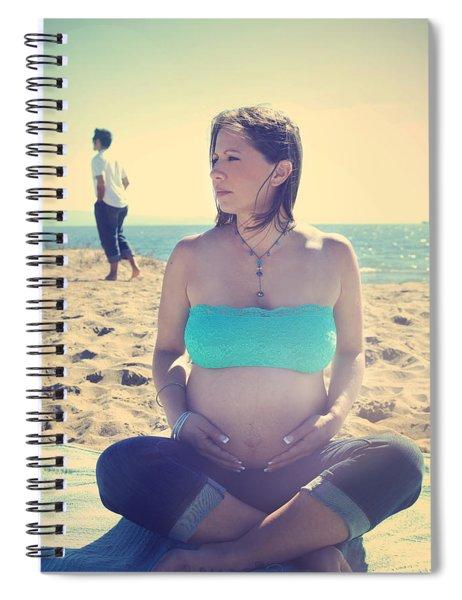 Near Spiral Notebook