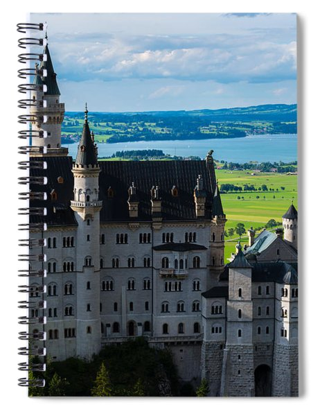 Neuschwanstein Castle - Bavaria - Germany Spiral Notebook