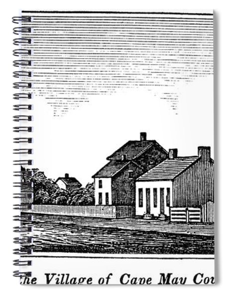 New Jersey Cape May, 1844 Spiral Notebook