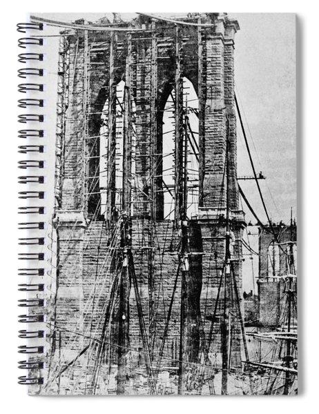 New York Brooklyn Bridge Spiral Notebook