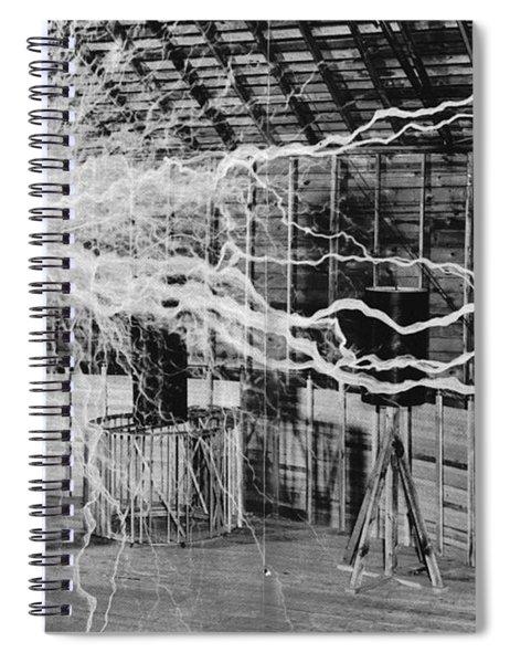 Nikola Tesla Serbian-american Inventor Spiral Notebook