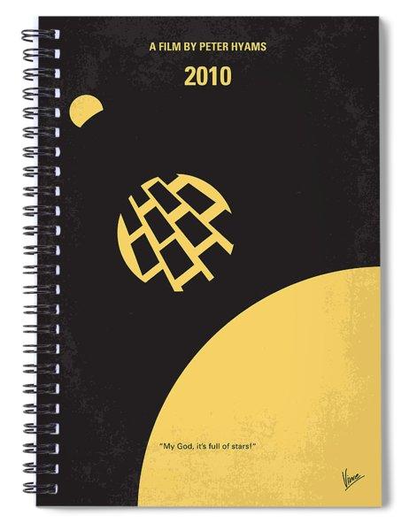 No365 My 2010 Minimal Movie Poster Spiral Notebook