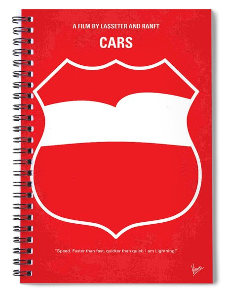 No378 My Incredibles Minimal Movie Poster Spiral Notebook