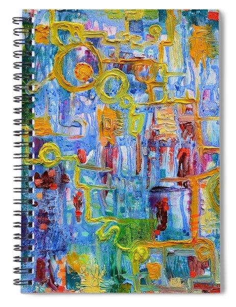 Nonlinear Spiral Notebook