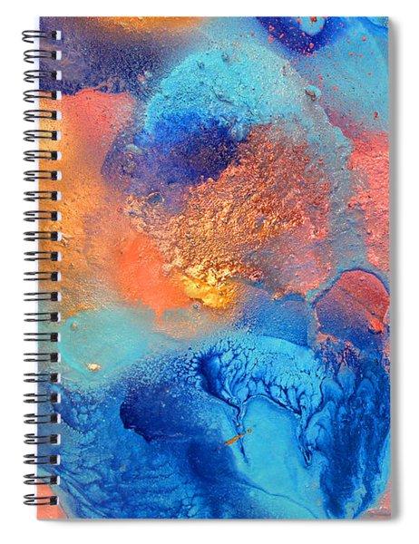 Ocean Breeze Diptych Part 1 Spiral Notebook