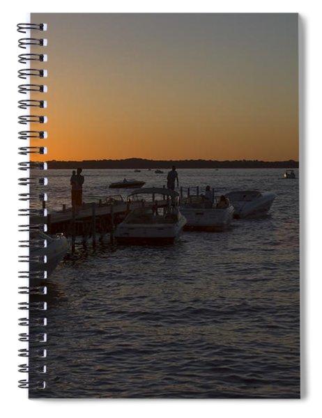 Okoboji Nights Spiral Notebook