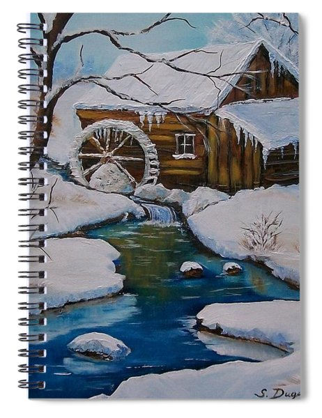Old Grist Mill  Spiral Notebook