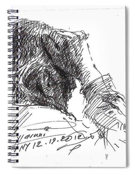 Old Man Spiral Notebook