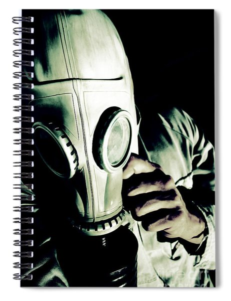 Oncoming Nuclear Mist Spiral Notebook