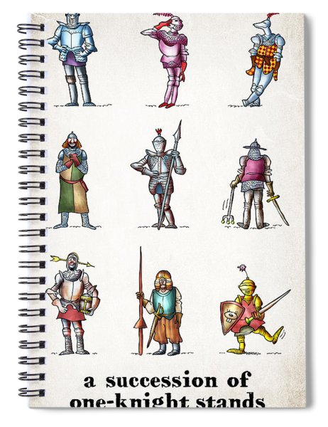 One Knight Stands Spiral Notebook