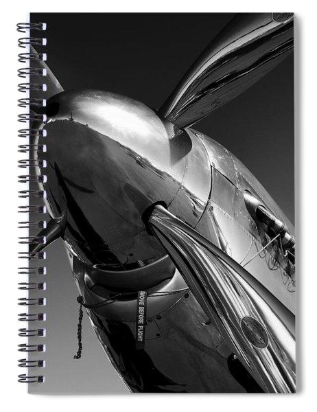 P-51 Mustang Spiral Notebook