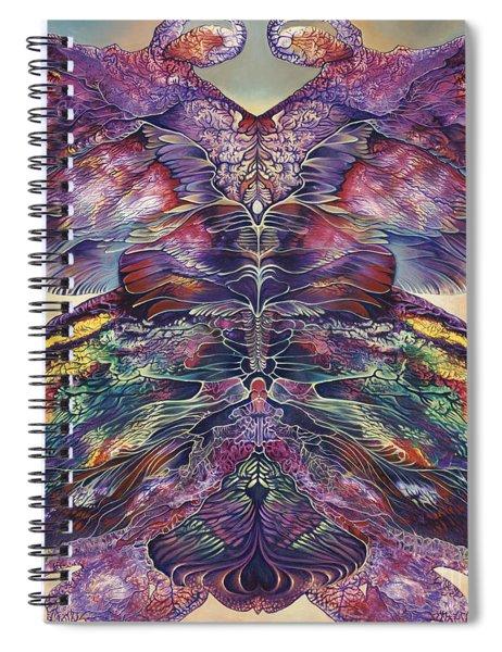 Papalotl Series 3 Spiral Notebook