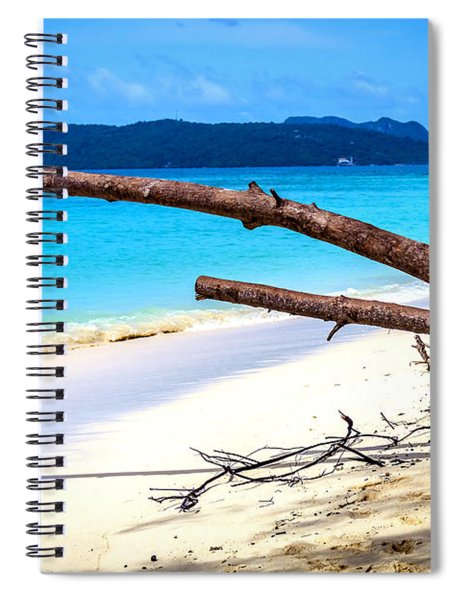 Paradise 3 Spiral Notebook